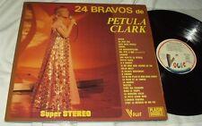 24 Bravos de PETULA CLARK Vogue LP's France Double Import Pet Sings in French!