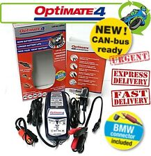 New Optimate 4 Ducati Connector CAN-bus edition 12V Battery Charger Motorcycle