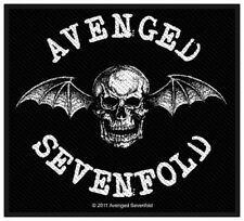 AVENGED SEVENFOLD - Patch Aufnäher Death bat 10x8cm