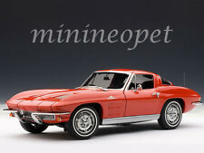 AUTOart 71183 1963 CHEVROLET CORVETTE STING RAY COUPE 1/18 DIECAST MODEL CAR RED
