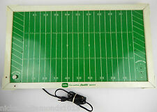 """Tudor """"Tru-Action"""" Electric Football Game! FIELD ONLY Motor Works VG Cond."""