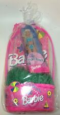 Vintage Pearl Beach Barbie Doll Easter Basket With Ring Visor New Old Stock