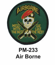 "3"" AIR BORNE Embroidered Military Patch"