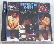 BENJAMIN DUBE Best Live Performances Vol 1 CD+DVD Combo SOUTH AFRICA