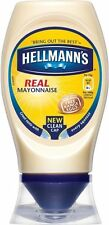 Hellmann's Real Mayonnaise Squeezy (4x250ml)l