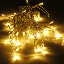 1M 10 LED String Fairy Lights Battery Operated Xmas Party Room Decor Warm White