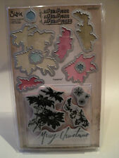 SIZZIX FRAMELITS TIM HOLTZ ALTERATIONS WITH STAMPS MERRY CHRISTMAS BNIP