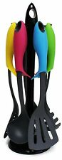 Love Your Kitchen Elevate Kitchen Utensil Set with Carousel (7 Piece Set), New