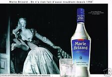 Publicité advertising 1991 (2 pages) Liqueur Anisette Marie Brizard