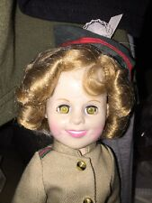 "12"" Shirley Temple Doll Original Dress Marked On Back Of Head"
