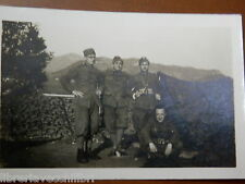 Vecchia foto d epoca fotografia antica tenda mimetica REGIO ESERCITO ITALIANO di