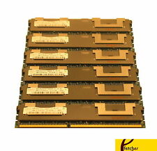 24GB (6X4GB) MEMORY FOR HP PROLIANT DL320 G6 DL360 G6 DL360 G7 DL370 G6 DL380 G6