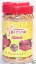 RED STAR SHRIMP-E 100gm Natural Fish Food to FlowerHorn, Arowana & Oscar