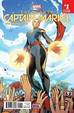 The Mighty Captain Marvel #1 Comic Book 2017 - Marvel