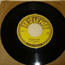 ROCKABILLY 45 RPM RECORD -RAY B ANTHONY - SUN 333