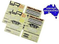 Yeah Racing sticker set for 1:10 RC use may suit Tamiya Axial TRAXXAS HPI nitro