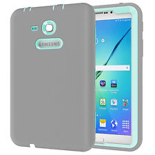 """Kids Heavy Duty Impact Shockproof Case Cover For Samsung Galaxy Tab 3 E Lite 7"""""""