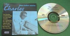 Ray Charles Blues Before Sunrise inc Rockin' Chair Blues & Lonely Boy + CD