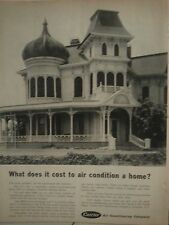 1961 Carrier Air Conditioning Victorian Home What Does It Cost Original Ad