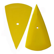 1PC YELLOW CONTOUR SQUEEGEE CAR WINDOW FILM TINTING TOOL HARD CARD