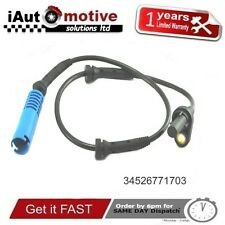 Bmw 5 & 6 Series Rear Wheel ABS Speed Sensor E60 E63 E64 34526771703 2003 - 2010