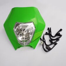 Universal Headlight fit kawasaki KLX KXF 110 150 250 450 CRF RMZ Dirt Pit Bike