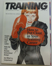 Training Magazine How To Put Clout In Your Training Career June 1998 060215R