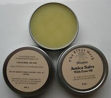 The Elder Herb Shoppe 100% Natural Arnica Salve with Pure Emu Oil 2 oz.