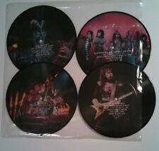 """KISS 4-DISC  7"""" PICTURE DISC SET INTERVIEW"""