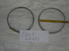 FIAT 600 T FURGONE PULMINO CERCHI FARO HEADLIGHTS TRIMS RINGS