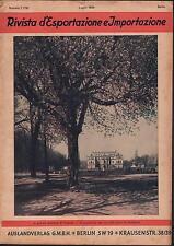 L383-RIVISTA D'ESPORTAZIONE E IMPORTAZIONE TECNOLOGIA INVENZIONI 1926 n 7