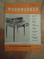 Woodworker April 1962 ~ Retro Vintage Illustrated Magazine + Advertising
