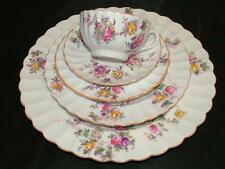 Spode Copelands China 'Dorothy Perkins' Roses Pattern 5 Piece Place Setting Mint
