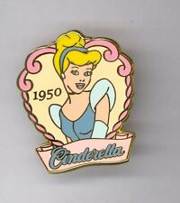Disney 100 Years of Dreams Princess Cinderella Movie Release in 1950 Pin