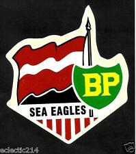 """THE SEA EAGLES'' Vinyl Decal Sticker MANLY WARRINGAH BP PETROL nrl rugby LEAGUE"