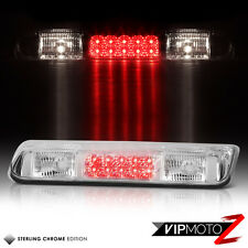 2004-2008 Ford F150 Lobo Chrome LED Third Brake Cargo Cab Roof Tail Lights Lamps