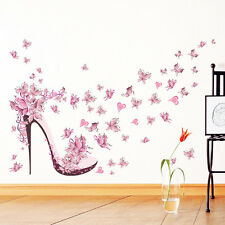 Home Decor Wall Sticker Removable Mural Decal Vinyl High Heel Living Room Paper
