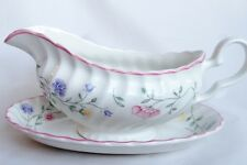 Johnson Brothers Summer Chintz Gravy Boat and Stand - Sauce Boat and Plate