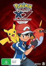 POKEMON XY THE SERIES : KALOS QUEST Collection 1 -  DVD - UK Compatible sealed