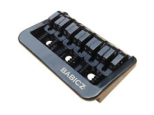 Babicz Full Contact Hardware Fixed 6 Hardtail Guitar Bridge - Black