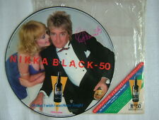 PROMO ONLY PICTURE VINYL / ROD STEWART OH GOD I WISH I WAS HOME TONIGHT