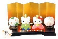 Japanese Hello Kitty Hina-Ningyo Doll's Festival Porcelain Small Cute Kawaii