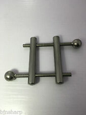 *** STAINLESS STEEL BALL CRUSHER TESTICLE VICE BONDAGE WEIGHT STRETCHER CBT ***
