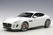 1:18 AUTOart 2015 JAGUAR F-TYPE R COUPE (POLARIS WHITE)