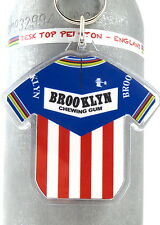 Brooklyn Gum Paris Roubaix Tour De France Cotton Cycling Jersey Keyring Rapha