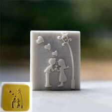 Lovers Handmade Tree Soap Stamp Soap Mold Resin Stamp Cake Mold
