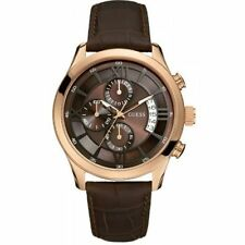 Guess W14052G2 Men's Wrist Watch in Brown Dial