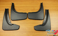 2014-2017 Jeep Grand Cherokee Summit Front & Rear Mud Flap Splash Guard Set OEM