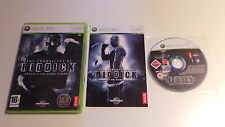 CHRONICLES OF RIDDICK XBOX 360  EN FRANCAIS