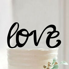 Love Letter Cake Topper Wedding Engagement Party Decoration